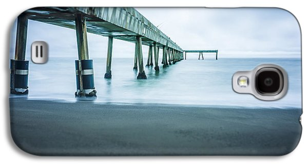 Beach Landscape Galaxy S4 Cases - Pacifica Pier Galaxy S4 Case by Steve Spiliotopoulos