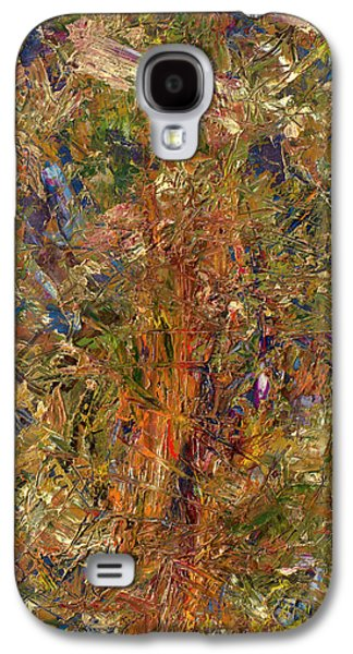 Expressionism Galaxy S4 Cases - Paint Number 25 Galaxy S4 Case by James W Johnson