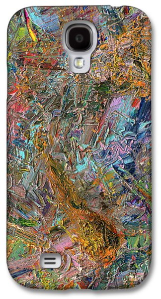 Expressionism Galaxy S4 Cases - Paint Number 26 Galaxy S4 Case by James W Johnson