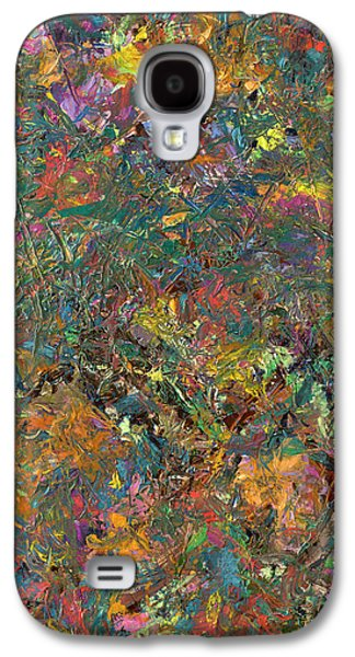 Expressionism Galaxy S4 Cases - Paint number 29 Galaxy S4 Case by James W Johnson