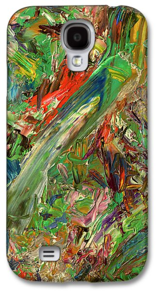 Expressionism Galaxy S4 Cases - Paint number 32 Galaxy S4 Case by James W Johnson