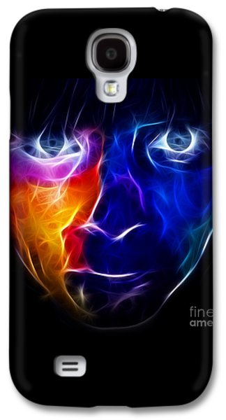 Painter Mixed Media Galaxy S4 Cases - Paint Runs in My Blood Galaxy S4 Case by Pamela Johnson