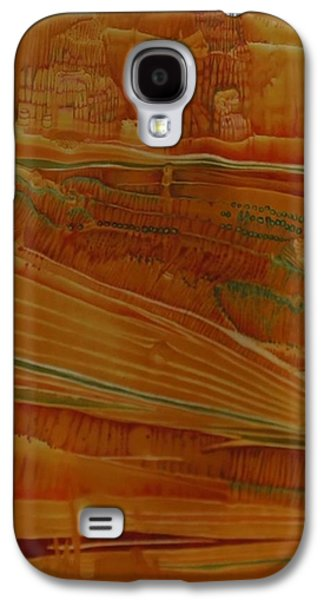 Painted Desert Galaxy S4 Case by Mary Wahr