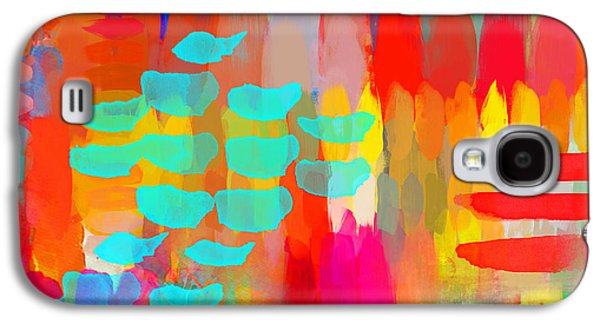 Painter Galaxy S4 Case by Moon Stumpp