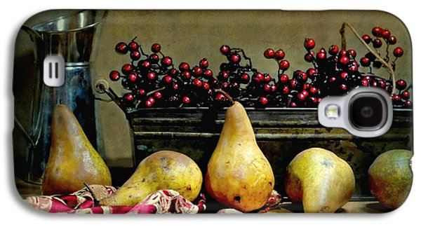Still Life With Old Pitcher Galaxy S4 Cases - Pairs of Pears Galaxy S4 Case by Diana Angstadt