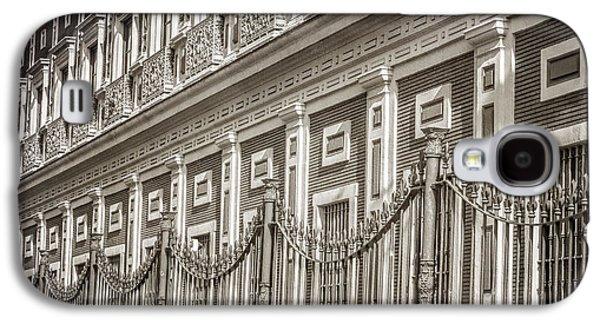 Landmarks Photographs Galaxy S4 Cases - Palacio de San Telmo Facade Galaxy S4 Case by Joan Carroll