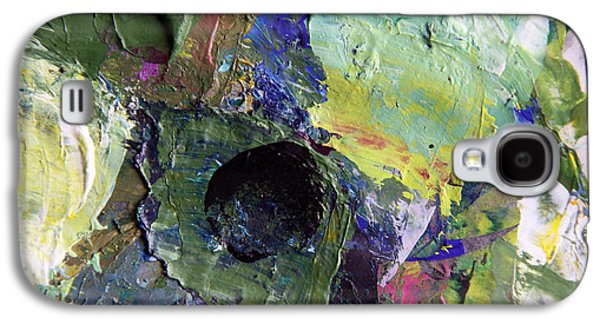 Abstraction Photographs Galaxy S4 Cases - Palette Abstraction #20 Galaxy S4 Case by John Lautermilch