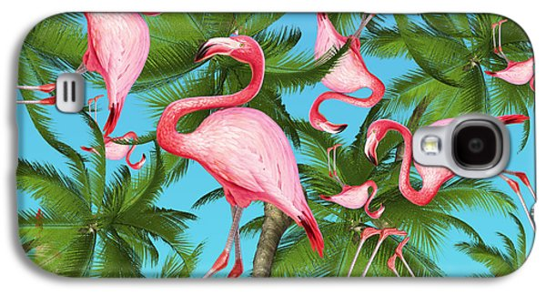 Palm Tree Galaxy S4 Case by Mark Ashkenazi