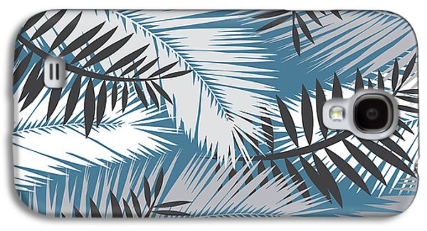 Palm Trees 10 Galaxy S4 Case by Mark Ashkenazi