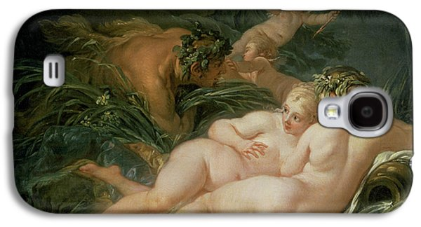 Pan And Syrinx Galaxy S4 Case by Francois Boucher