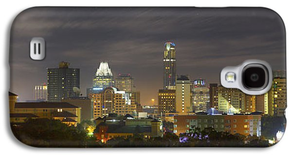 Panorama Of The Austin Skyline On A September Morning Galaxy S4 Case by Rob Greebon