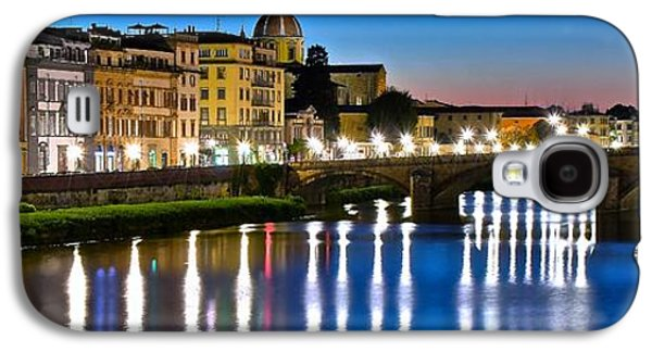 Panoramic Florence Italy Galaxy S4 Case by Frozen in Time Fine Art Photography