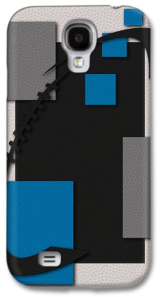 Panther Galaxy S4 Cases - Panthers Football Art Galaxy S4 Case by Joe Hamilton