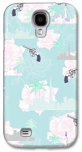 Shower Digital Galaxy S4 Cases - Paradise City Galaxy S4 Case by Beth Travers