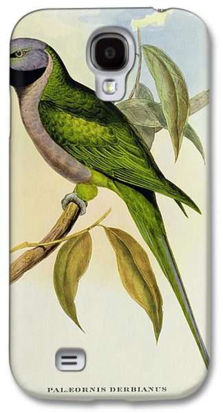 Parakeet Galaxy S4 Case by John Gould