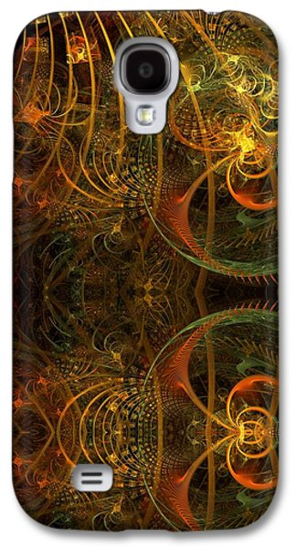 Fractal Pastels Galaxy S4 Cases - Parallel Visions of Time   Galaxy S4 Case by Gayle Odsather