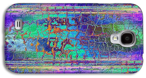 Abstract Digital Photographs Galaxy S4 Cases - Parched - Abstract Art Galaxy S4 Case by Carol Groenen
