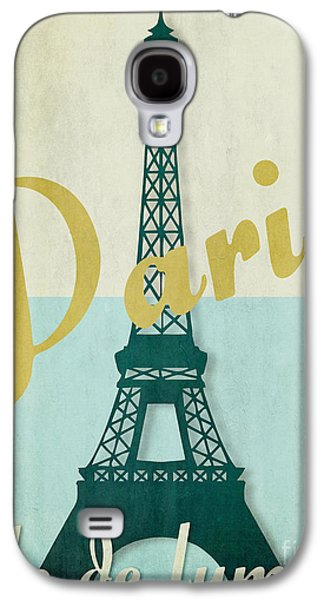 Paris City Of Light Galaxy S4 Case by Mindy Sommers
