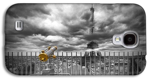 Paris Composing Galaxy S4 Case by Melanie Viola