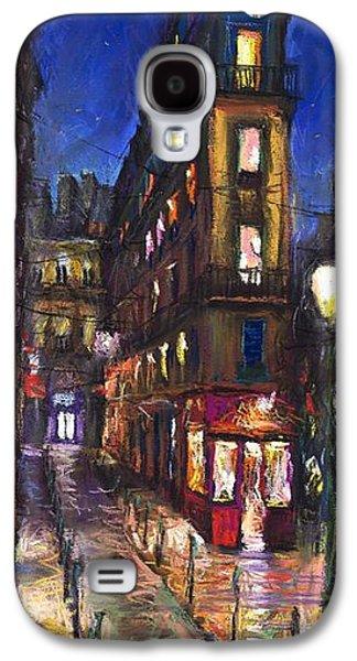 Old Street Galaxy S4 Cases - Paris Old street Galaxy S4 Case by Yuriy  Shevchuk