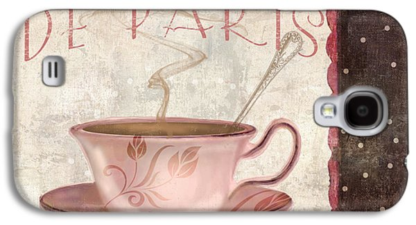 Paris Patisserie Cafe De Paris Galaxy S4 Case by Mindy Sommers