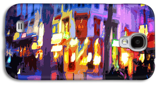 Colored Galaxy S4 Cases - Paris Quartier Latin 02 Galaxy S4 Case by Yuriy  Shevchuk