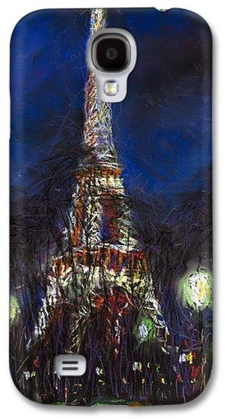 Europe Galaxy S4 Cases - Paris Tour Eiffel Galaxy S4 Case by Yuriy  Shevchuk