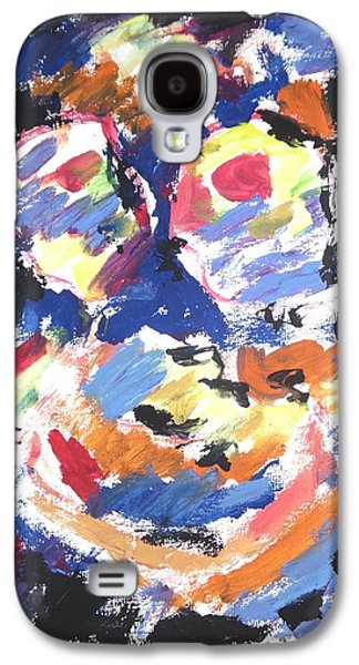 Psychiatry Paintings Galaxy S4 Cases - Partial Blackout Galaxy S4 Case by Esther Newman-Cohen
