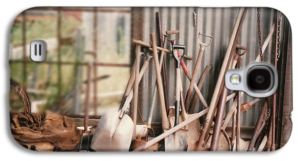 Vicki Ferrari Photography Photographs Galaxy S4 Cases - Pass The Shovel Galaxy S4 Case by Vicki Ferrari