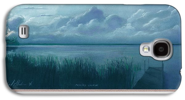 Storm Pastels Galaxy S4 Cases - Passing Storm Over Tamarac Galaxy S4 Case by Michael  Weber
