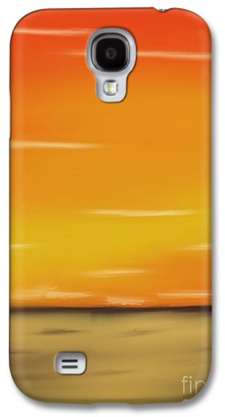Skylines Pastels Galaxy S4 Cases - Passion Galaxy S4 Case by Jerod Roberts