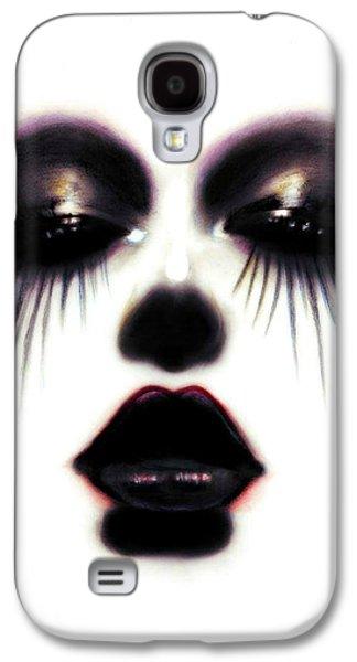 Creepy Pastels Galaxy S4 Cases - Pastel Eyes Galaxy S4 Case by Alycia Plank