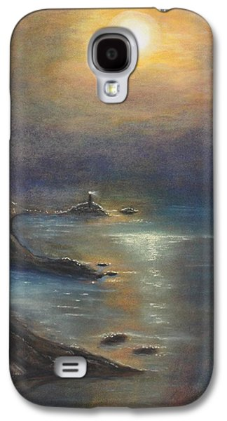 Skylines Pastels Galaxy S4 Cases - Pastel MSC 002 Galaxy S4 Case by Mario Sergio Calzi
