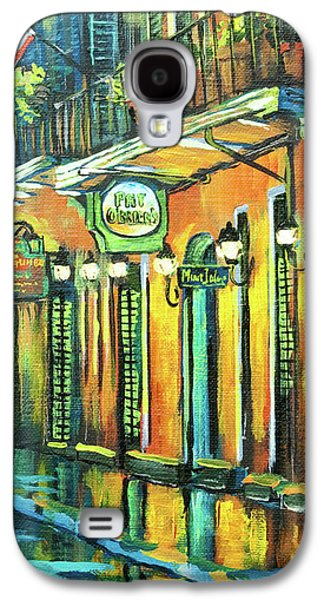 French Quarter Paintings Galaxy S4 Cases - Pat O Briens Galaxy S4 Case by Dianne Parks