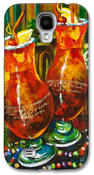 Alcohol Galaxy S4 Cases - Pat O Briens Hurricanes Galaxy S4 Case by Dianne Parks