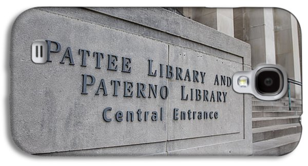 Paterno Library At Penn State  Galaxy S4 Case by John McGraw