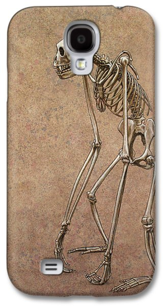 Animals Drawings Galaxy S4 Cases - Patient Galaxy S4 Case by James W Johnson