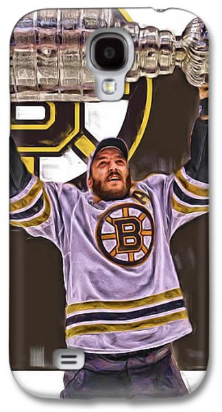 Patrice Bergeron Boston Bruins Oil Art 3 Galaxy S4 Case by Joe Hamilton