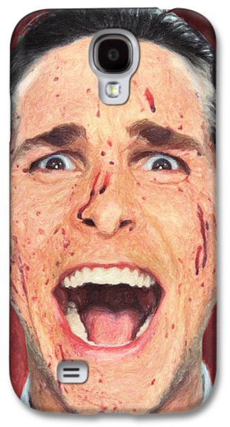 Patrick Bateman Galaxy S4 Case by Taylan Soyturk