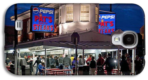 Phila Galaxy S4 Cases - Pats Steaks Galaxy S4 Case by John Greim