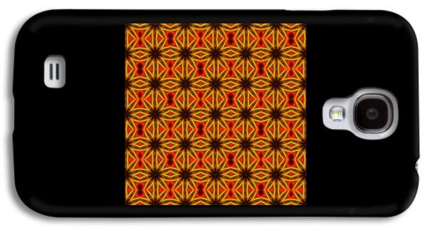 Abstract Digital Art Galaxy S4 Cases - Pattern 100 Galaxy S4 Case by Kristalin Davis