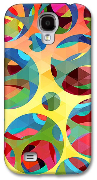 Animation Galaxy S4 Cases - Pattern 3 Galaxy S4 Case by Mark Ashkenazi