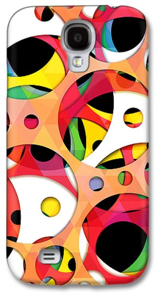Animation Galaxy S4 Cases - Pattern 4  Galaxy S4 Case by Mark Ashkenazi