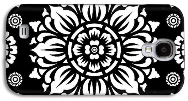 Pattern Art 01-1 Galaxy S4 Case by Bobbi Freelance