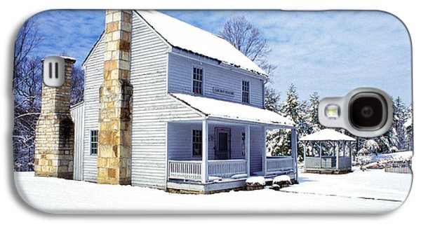 Civil War Site Galaxy S4 Cases - Patterson House Carnifax Ferry Battlefield Galaxy S4 Case by Thomas R Fletcher