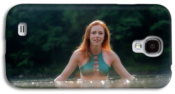 Patty Smith In The Water Galaxy S4 Case by Dan Friend