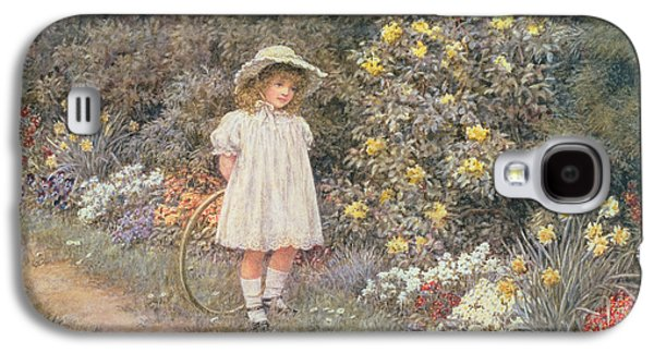 Pause For Reflection Galaxy S4 Case by Helen Allingham