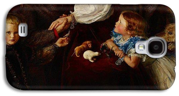 Peace Concluded Galaxy S4 Case by Sir John Everett Millais