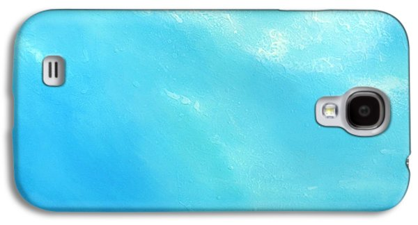Abstract Prints For Sale Paintings Galaxy S4 Cases - Peace Galaxy S4 Case by Jaison Cianelli