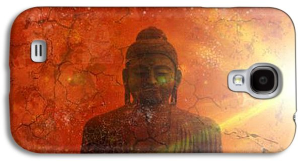 Siddharta Galaxy S4 Cases - Peace Galaxy S4 Case by Michelle Foster
